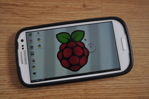 Android VNC Raspberry Pi